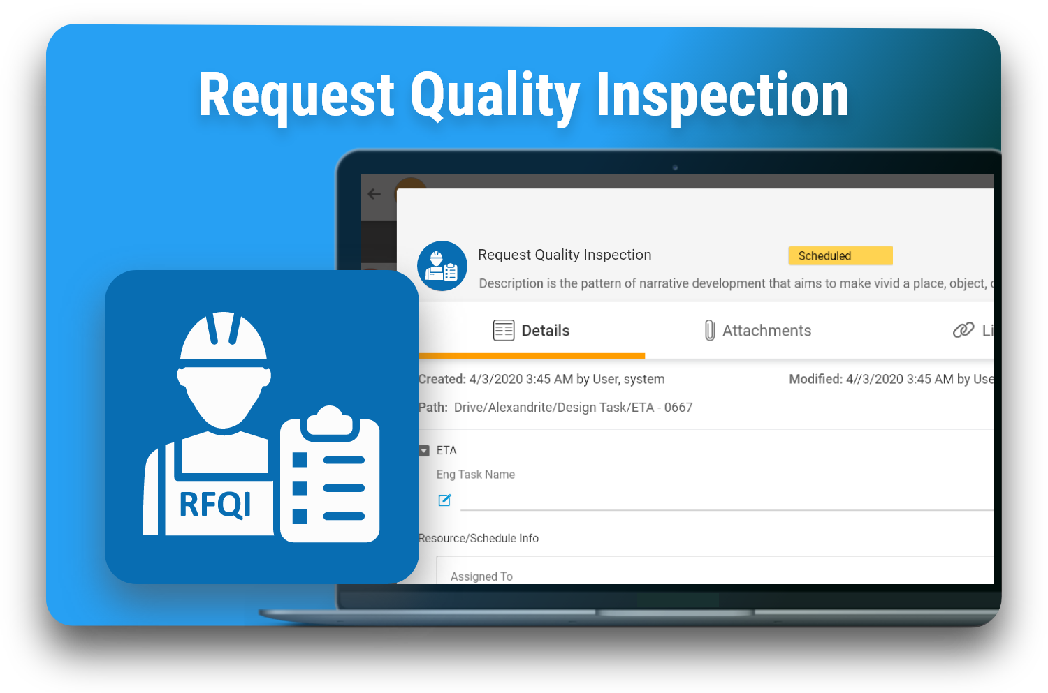 Request Quality Inspection